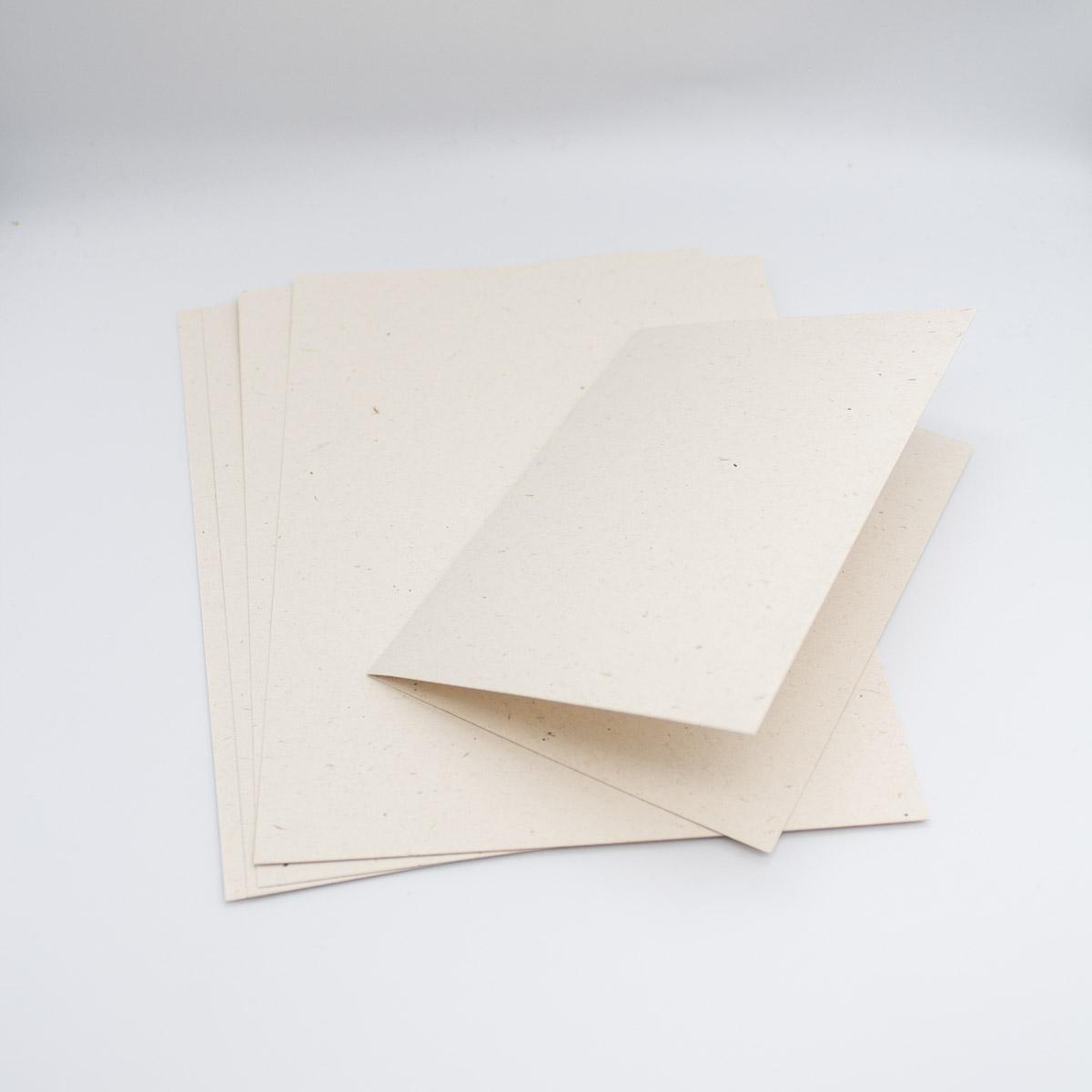 Karten Flora Creme Unsere kleine Bastelstube