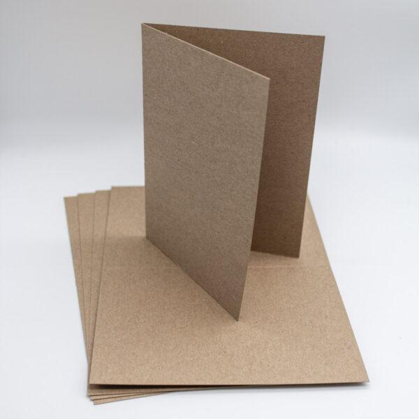 Karten Kraft 5 Stück - A6-Unsere-kleine-Bastelstube