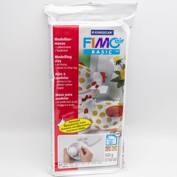 Fimo Modelliermasse Weiß lufttrocknend Unsere kleine Bastelstube