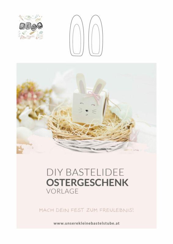 Kleine Geschenkverpackung für Ostern basteln | Unsere kleine Bastelstube - DIY Bastelideen für Feste & Anlässe