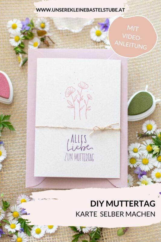 Freulebnis Box Stempeln rund ums jahr- Muttertagskarte