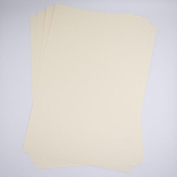 Uni Premiumpapier Creme 5 Blatt