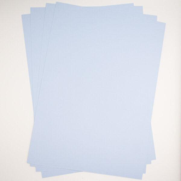 Premiumpapier Eisblau