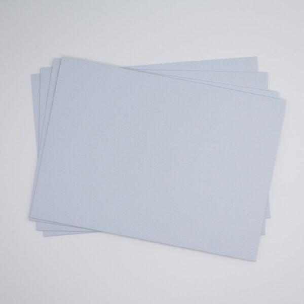 Briefumschlag Eisblau für Babyparty oder Geburtstag