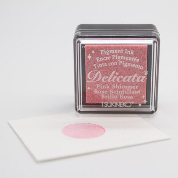 Delicata Stempelkissen Pink Shimmer