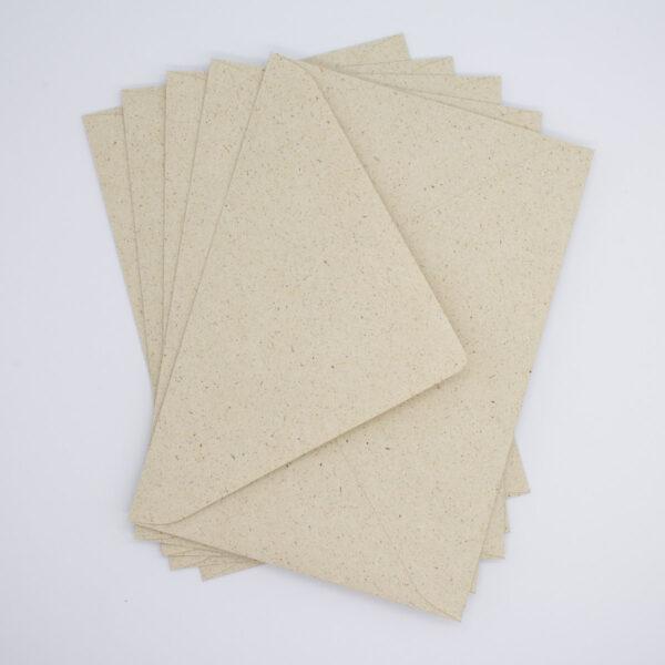 Graspapier Briefumschlag B6