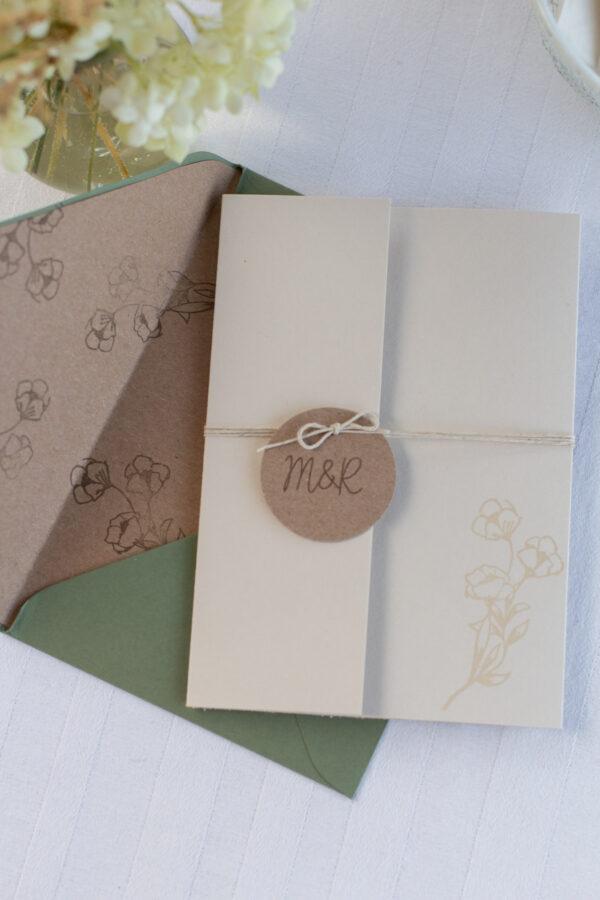 Einladung zur Hochzeit einfach selber machen