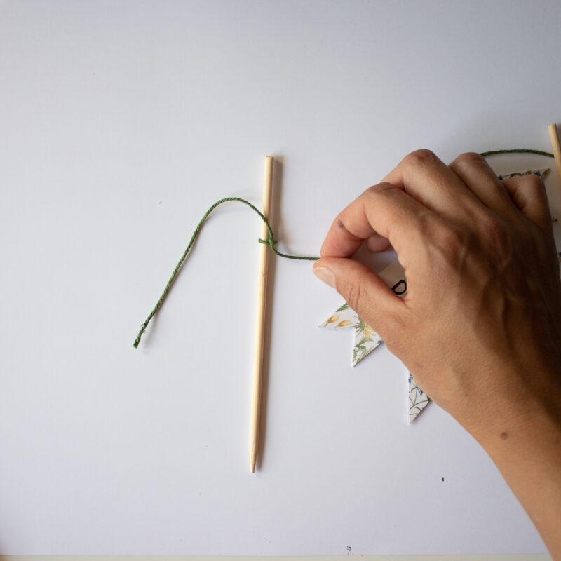 Torten Wimpelkette selber machen   Unsere kleine Bastelstube - DIY Bastelideen für Feste & Anlässe