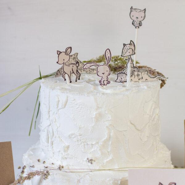 Lass mit dem Stempelset Waldtiere die Augen von Kindern strahlen ✓Einladung & Tischdeko für Kindergeburtstag ✓Waldtierparty ✓Herbst ✓Ostern >>Jetzt entdecken