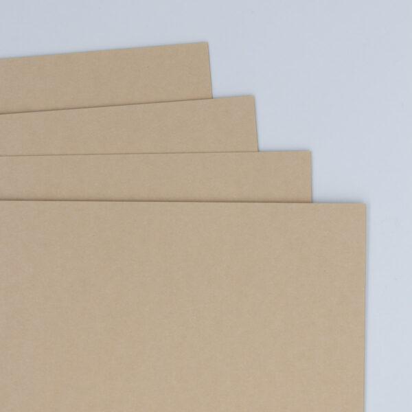 Bastelpapier in der Farbe Walnuss