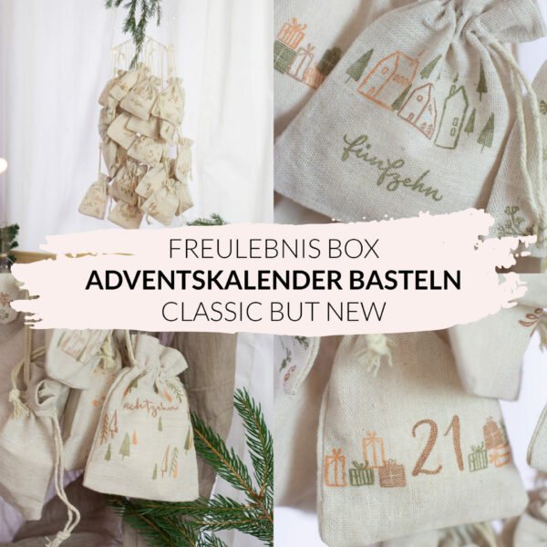 DIY Adventskalender basteln - Classic but new