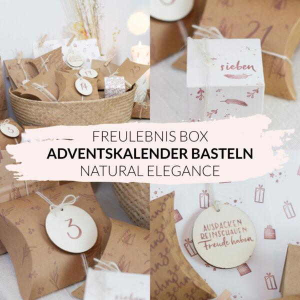 DIY Adventskalender basteln - Natural Elegance