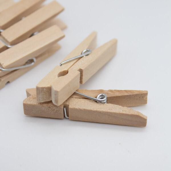 Holz Wäscheklammern 4,5 cm